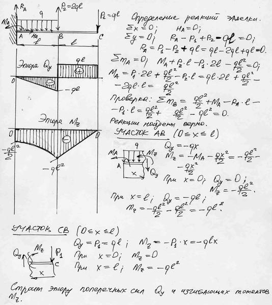механике решебник эпюрами по с