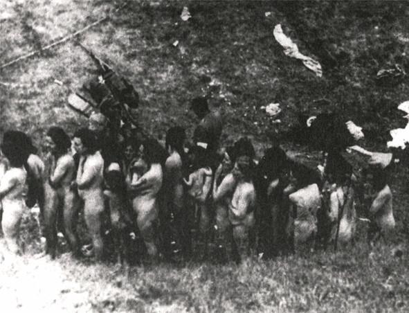 Фото голые девушки убивают