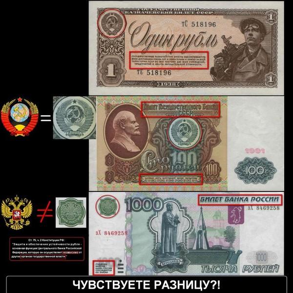 Почему российские рубли не