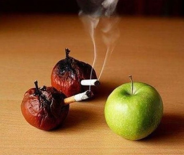 какие фрукты помогают кинуть курить