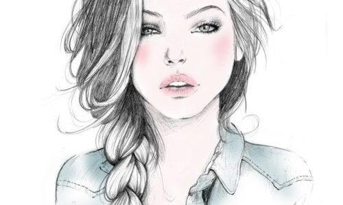 картинки подростки нарисованные