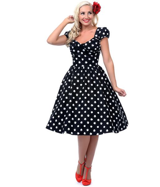 Платья в стиле ретро на полных