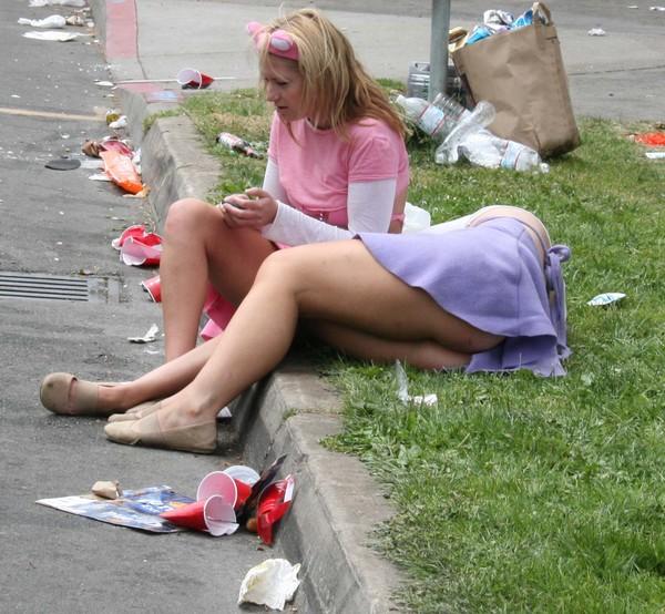 Фото с пьяными женщины — photo 11