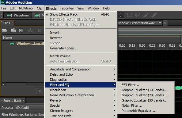 Как убрать вокал из песни с помошью Adobe Audition 1.5
