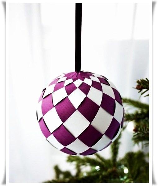 Новогодние шары своими руками из бумаги мастер