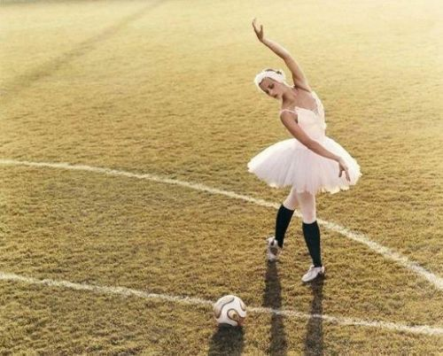 ballet or football The right moves: the relationship between football and ballet has always been as fraught as a premier league player's marriage, so is it worth the strain.