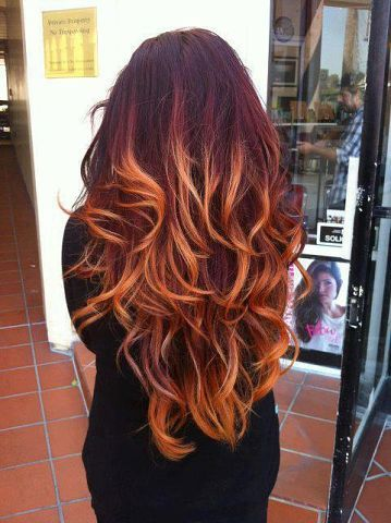 Как выглядит каскад на длинные волосы