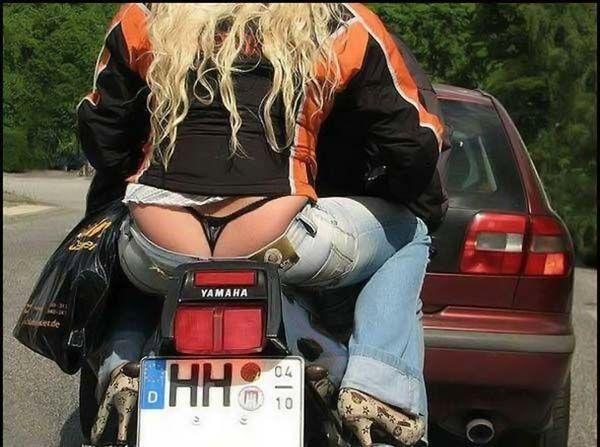 женщина рассказывала в стрингах на мотоцикле интим белогорье
