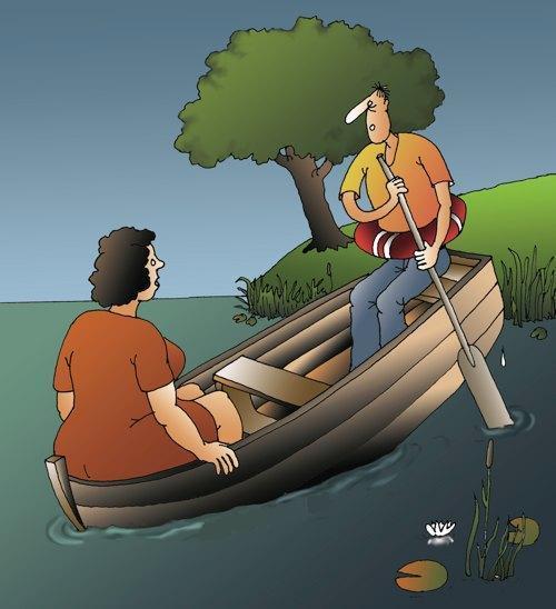 Открытку марта, прикольные картинки на лодке