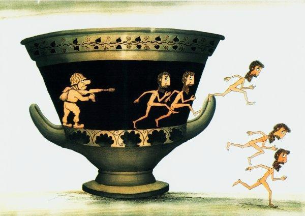 Греческие картинки смешные, шарами открытка картинки