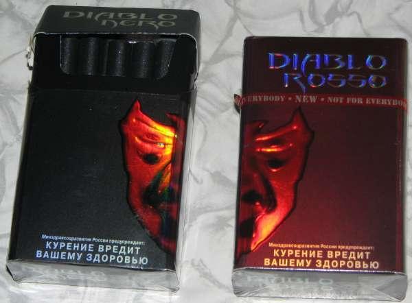 Сигареты диабло купить в интернет магазине реклама табачных изделий законодательство