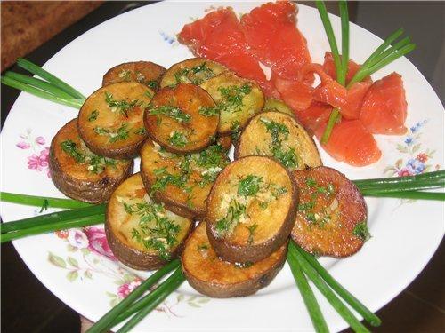 День 259 Жареный картофель дольками | Хлеб-Соль