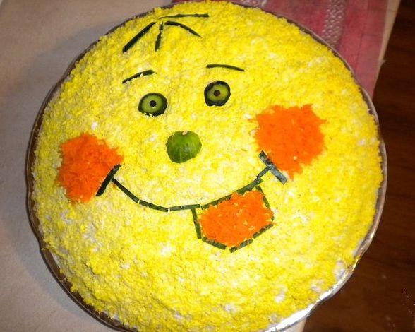 салаты фото на день рождения