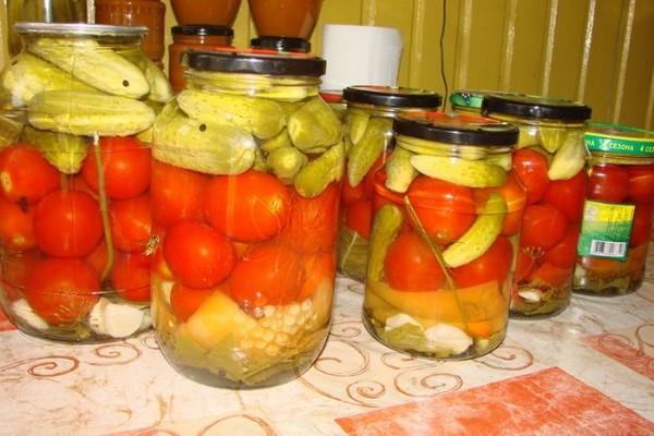 Маринованные овощи зиму рецепты фото
