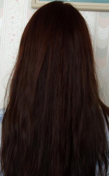 Как покрасить волосы в шоколадный цвет басмой