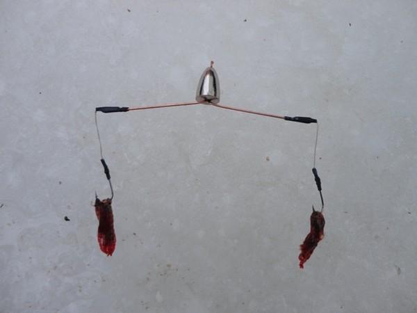 Снасть для зимней рыбалки на леща