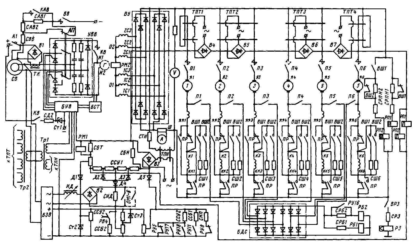 него нагружение на тормозные резисторы 2тэ116у добиться