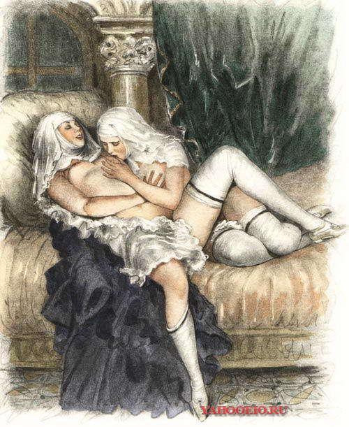 эротические картины лесбиянство поверила