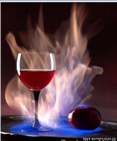 Картинка вино любви