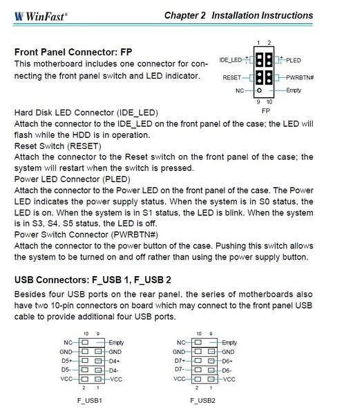 Winfast nf4sk8aa инструкция