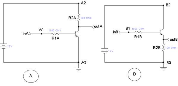 эмиттер транзистора.