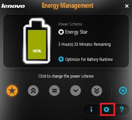 скачать программу Energy Management Lenovo - фото 3