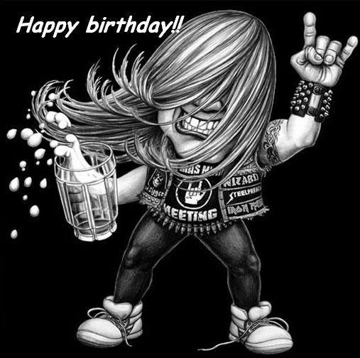 С Днём Рождения, Heavy Metal!