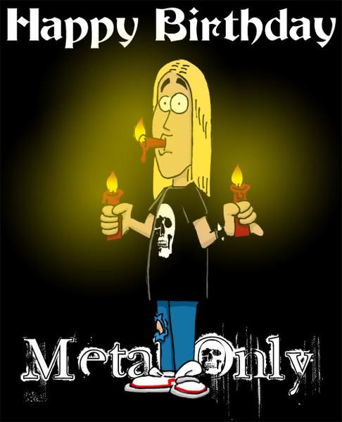 Открытки днем, картинки с днем рождения металлисту