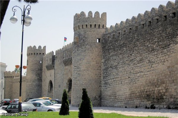 баку крепость старый город выветривание