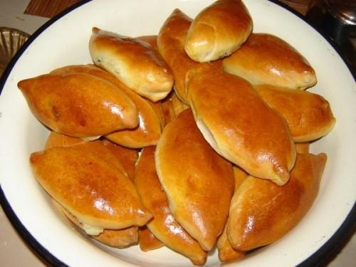 Духовые пирожки с творогом рецепт с фото