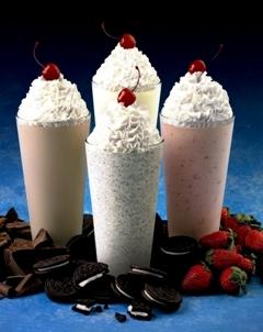 Как сделать коктейль из мороженого и сливок 64