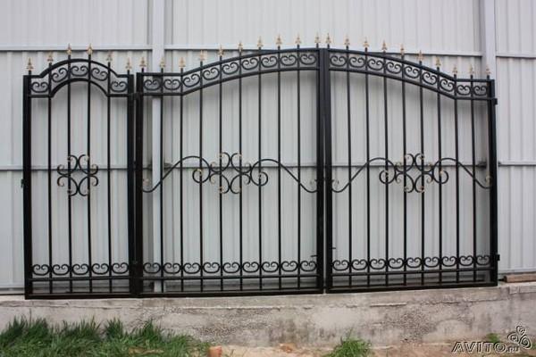 Ворота для дачи с калиткой в люберцах цена штакетник пермь цены