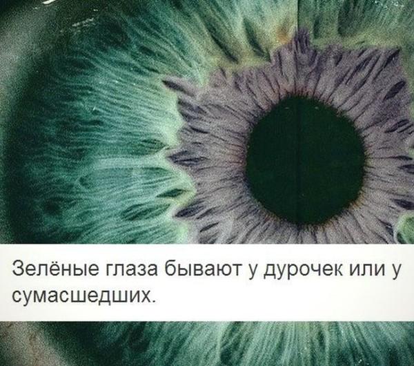 Картинки зеленых глаз с надписью