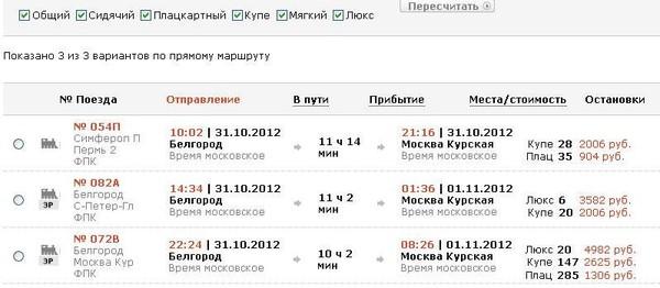 подборка тем купить билет на поезд москва киев цена это
