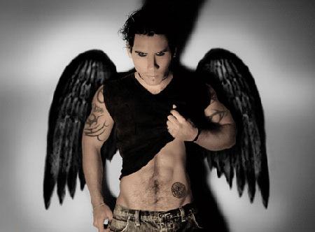 фото ангел парень