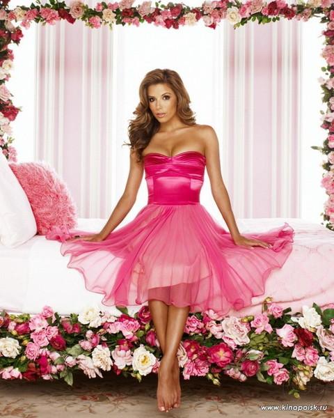 Картинки девушки красивые в розовых нарядах
