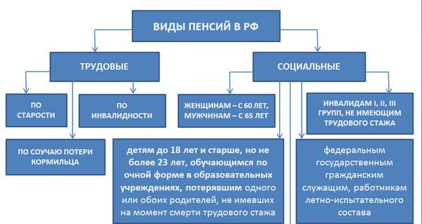 ведь социальная пенсия в россии как называется