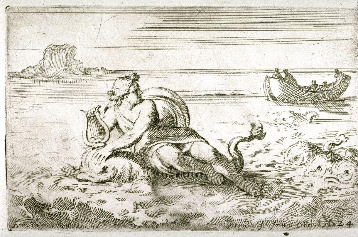вещицы иллюстрации о легенде об арионе без платья