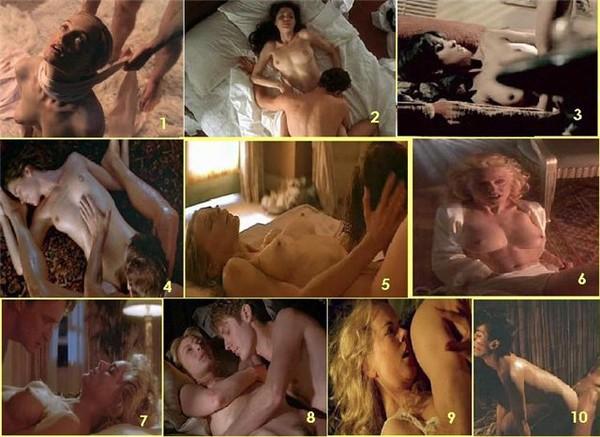Анджелина Джоли и Антонио Бандерас - Соблазн 3. Халли Бери и Би