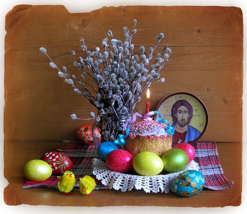 Картинки к пасхе и вербному воскресенью, спасибо добрый