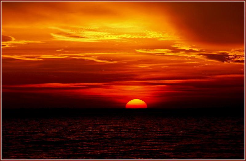 Красивые картинки заката и рассвета на море
