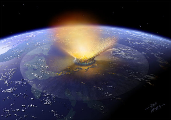 a look at meteorite impacts as a threat to civilization After nasa filmed the moment that a meteorite impact triggered a massive explosion on the surface of the moon, scientists warned that the earth could be next if we do not develop the technology to ward off the threat of meteoroids and.
