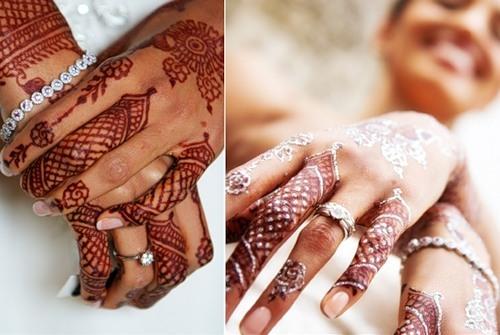Индийская роспись на руках что это