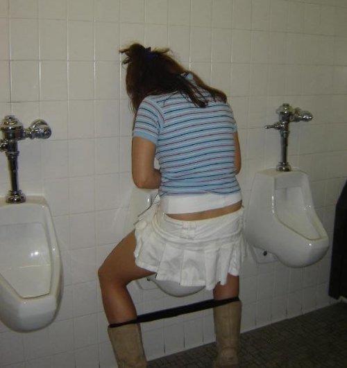 Как порятся в туалетах