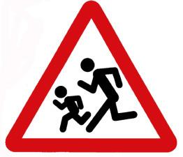 Дорожный знак фото для детей