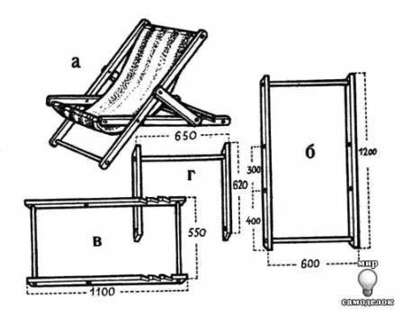 Ответы Mail.Ru: Самодельное Раскладное Кресло!