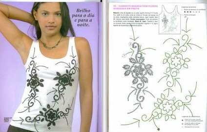 Для вышивки бисером на одежде схемы