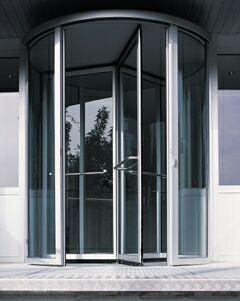 Кто изобрел вращающиеся двери новые фото
