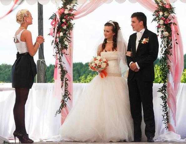 Все фото со свадьбы еленой бушины
