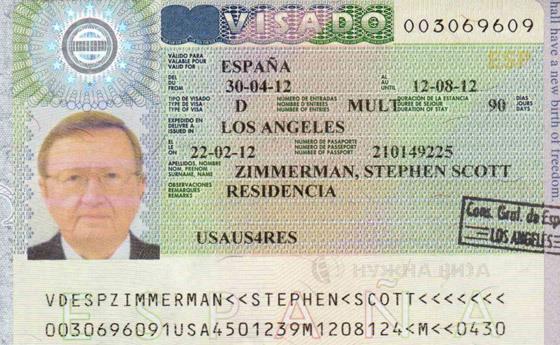 Анкета на визу в испанию 2017